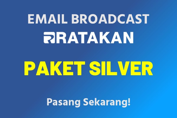 Email Broadcast Paket Silver