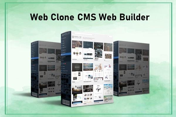 Web Clone CMS Web Builder