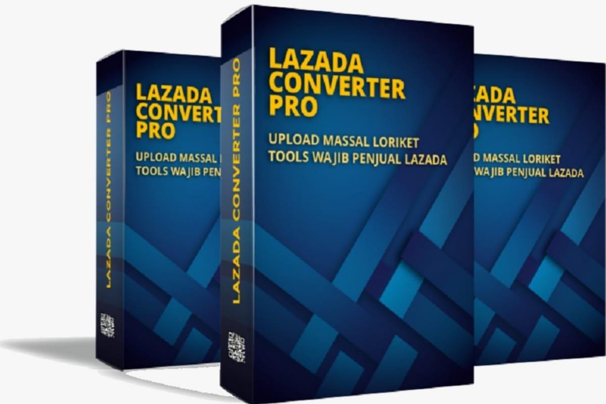 Lazada Converter Pro Tools Upload Massal di Lazada sekaligus Loriket