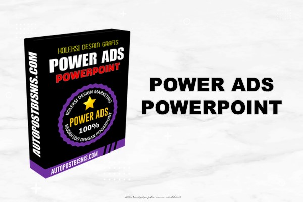 Power Ads - Paket Lengkap Desain Marketing