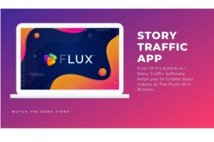 FLUX Agency - Aplikasi Pembuat Story (Agency License)