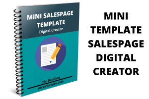 Mini Template Salespage: Specialist DIgital Creator