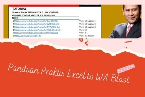 Promosi Lewat Wa Blast Excel Tanpa Aplikasi bisa send data sampe 1000 no wa/ 30 menit tanpa harus masukan nomer kontak