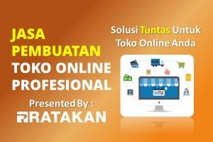 Jasa Pembuatan Toko Online Profesional