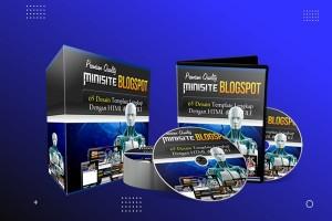 65 Desain Template Minisite Blogspot Premium V.2