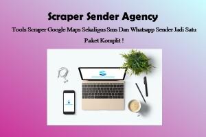 Scraper Sender Paket Platinum