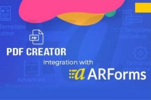 Pdf Creator for Arforms Plugin