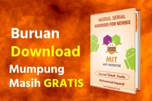 GRATIS 8 Modul Android For Newbie