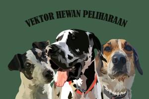 Potrait Vektor Logo Hewan