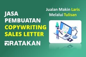 Jasa Copywriting Sales Letter
