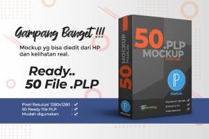 50 PixelLab Mockup Case