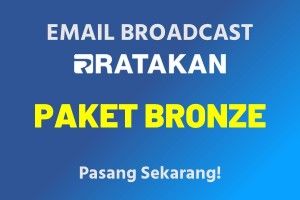 Email Broadcast Paket Bronze