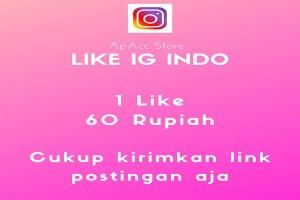 Jasa Penambah Like IG Murah - 100 Like